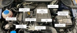 complex engine graphic